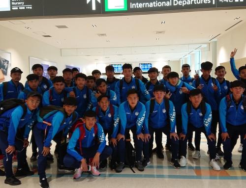 台湾、香港、澳門チーム帰国